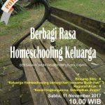 Berbagi rasa homeschooling keluarga